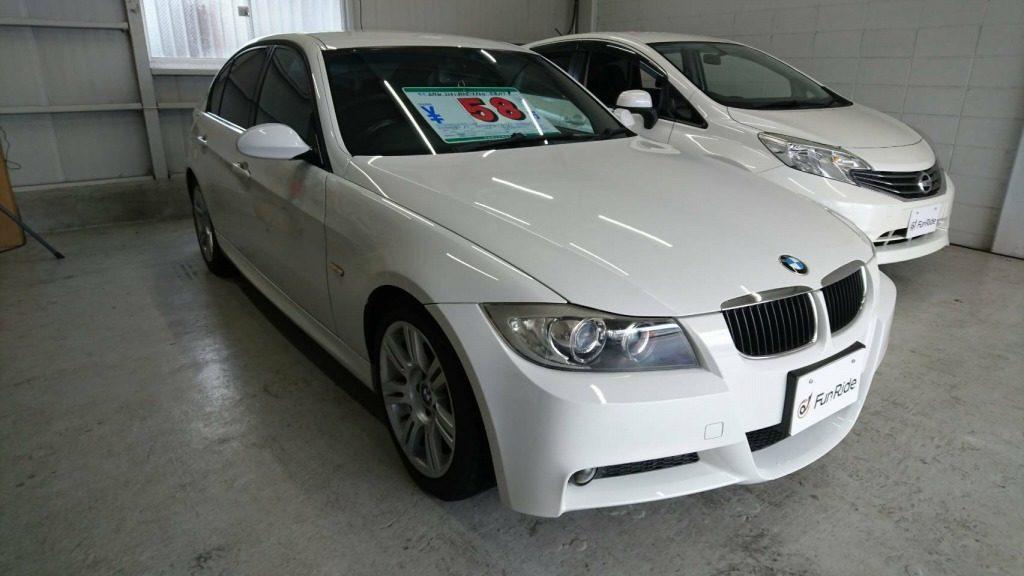 58万円で販売されているBMW E90 320i 6MT M sports