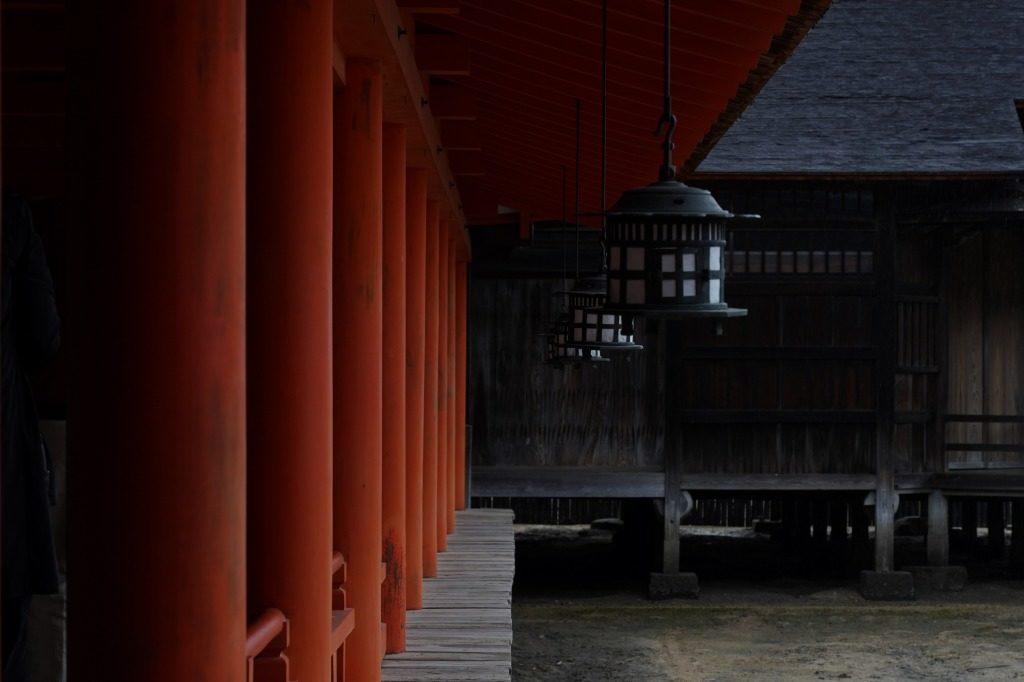 厳島神社インスタ映え写真①