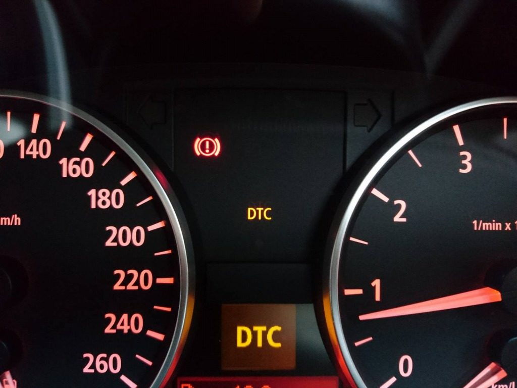 DTCモードの時のインディケーター