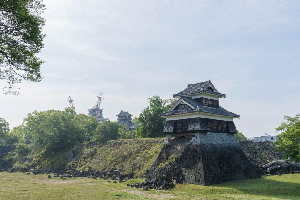 熊本城の一部