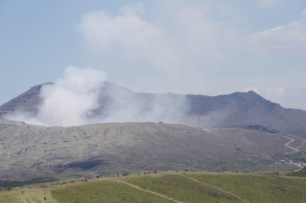 阿蘇山の火山