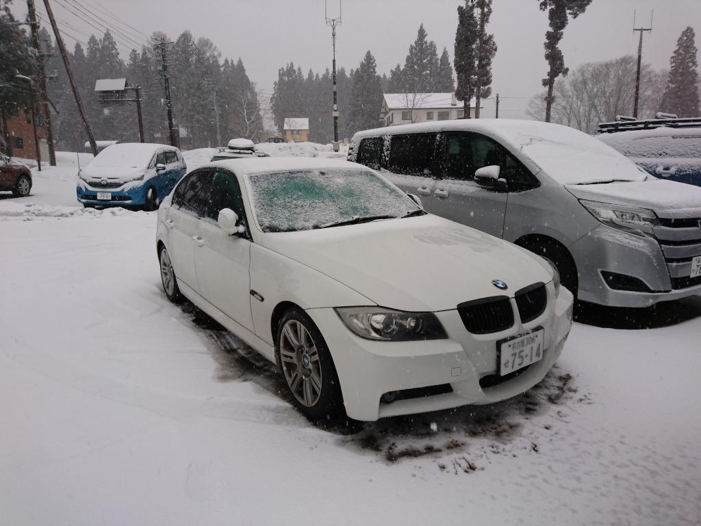 3シリーズ_雪